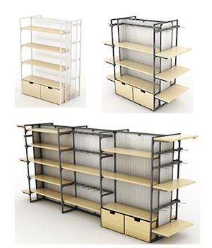 Mulit-Function Retail Stands