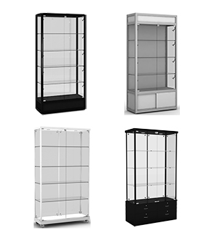 Display Cabinets - Uprights