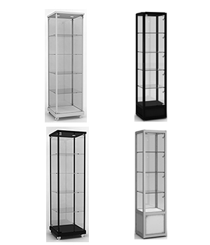 Glass Tower Showcases