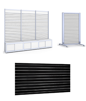 Slat walls & Stands