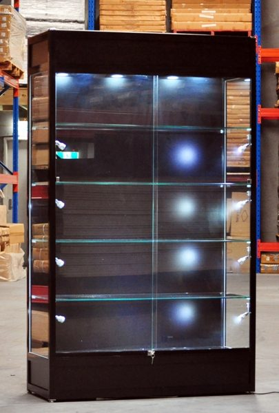 led lights display cabinets glass cabinets metro display
